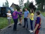 Uitzonderlijke ballonvaart opgestegen op startlocatie Oss zaterdag  9 juni 2018