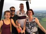 Uitzonderlijke luchtballon vaart gestart in Nederweert zaterdag 9 juni 2018