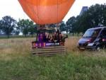 Fascinerende luchtballon vaart vanaf opstijglocatie Tilburg zondag 10 juni 2018