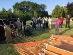 Meesterlijke ballon vaart regio Veenendaal zondag 10 juni 2018