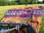 Spectaculaire ballon vaart startlocatie Veenendaal zondag 10 juni 2018