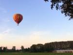 Formidabele ballon vlucht opgestegen op startlocatie Veenendaal zondag 10 juni 2018
