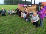 Exceptionele luchtballon vaart gestart in Veenendaal zondag 10 juni 2018