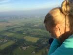 Heerlijke ballonvlucht opgestegen in Veenendaal zondag 10 juni 2018