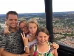 Magische ballonvlucht in de regio Doetinchem op zondag 12 augustus 2018