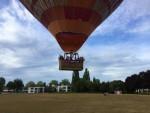 Schitterende luchtballon vaart startlocatie Doetinchem op zondag 12 augustus 2018