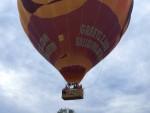 Prachtige luchtballonvaart opgestegen op startlocatie Eindhoven op zondag 12 augustus 2018