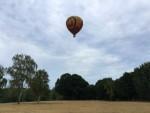 Onovertroffen ballon vlucht in de omgeving van Eindhoven op zondag 12 augustus 2018