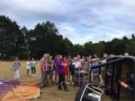 Perfecte heteluchtballonvaart opgestegen op startlocatie Eindhoven op zondag 12 augustus 2018