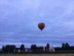 Fascinerende luchtballon vaart opgestegen in Enschede op zondag 12 augustus 2018