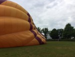 Perfecte ballon vlucht gestart in Leek op zondag 12 augustus 2018