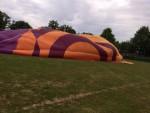 Fascinerende ballonvlucht gestart in Leek op zondag 12 augustus 2018