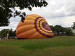 Uitstekende heteluchtballonvaart vanaf startlocatie Leek op zondag 12 augustus 2018
