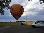 Uitmuntende luchtballonvaart boven de regio Nederweert op zondag 12 augustus 2018