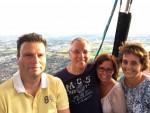 Uitstekende ballon vlucht omgeving Nederweert op zondag 12 augustus 2018