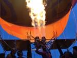 Hoogstaande ballon vlucht gestart in Tilburg op zondag 12 augustus 2018