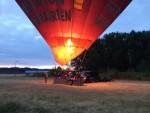 Jaloersmakende ballon vaart vanaf startveld Tilburg op zondag 12 augustus 2018