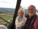 Mooie ballon vlucht over de regio Veenendaal op zondag 12 augustus 2018