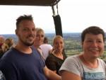 Meesterlijke ballonvlucht opgestegen op opstijglocatie Veenendaal op zondag 12 augustus 2018