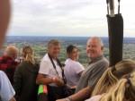 Sublieme heteluchtballonvaart over de regio Veenendaal op zondag 12 augustus 2018