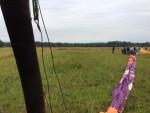 Unieke ballon vlucht opgestegen op opstijglocatie Zwolle op zondag 12 augustus 2018