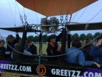 Voortreffelijke ballon vaart omgeving Zwolle op zondag 12 augustus 2018