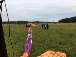 Overweldigende luchtballon vaart regio Zwolle op zondag 12 augustus 2018