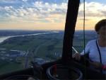 Uitzonderlijke ballon vlucht gestart in Beesd zondag 15 juli 2018