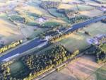 Prettige ballonvlucht in de omgeving Hengelo zondag 15 juli 2018