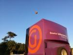 Prachtige luchtballon vaart boven de regio Hengelo zondag 15 juli 2018