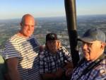 Professionele ballonvaart in de omgeving Hengelo zondag 15 juli 2018