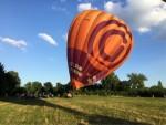 Ultieme luchtballon vaart in de buurt van Maastricht zondag 15 juli 2018