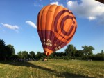 Perfecte luchtballon vaart omgeving Maastricht zondag 15 juli 2018