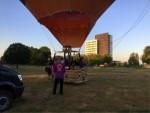 Mooie ballonvlucht opgestegen in Maastricht zondag 15 juli 2018