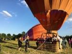 Formidabele ballonvlucht in de regio Maastricht zondag 15 juli 2018