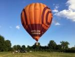 Prachtige ballon vaart opgestegen op opstijglocatie Maastricht zondag 15 juli 2018