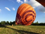 Super heteluchtballonvaart gestart in Maastricht zondag 15 juli 2018