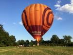 Fantastische ballonvlucht opgestegen op startveld Maastricht zondag 15 juli 2018