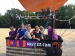 Weergaloze ballon vaart vanaf opstijglocatie Tilburg zondag 15 juli 2018