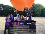 Uitzonderlijke luchtballon vaart startlocatie Tilburg zondag 15 juli 2018