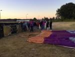 Fenomenale ballon vaart in de omgeving Tilburg zondag 15 juli 2018