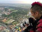 Prettige luchtballonvaart startlocatie Leek zondag 17 juni 2018
