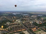 Fenomenale heteluchtballonvaart in de omgeving van Leek zondag 17 juni 2018