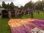 Verrassende luchtballonvaart vanaf opstijglocatie Leek zondag 17 juni 2018