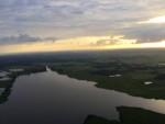 Magische ballon vaart opgestegen op startlocatie Leek zondag 17 juni 2018