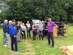 Formidabele luchtballonvaart opgestegen op startlocatie Sittard zondag 17 juni 2018