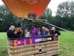 Heerlijke luchtballon vaart opgestegen op startlocatie Sittard zondag 17 juni 2018