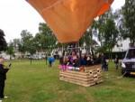 Voortreffelijke luchtballonvaart opgestegen op startlocatie Uden zondag 17 juni 2018