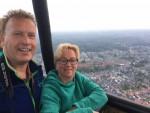 Prachtige luchtballonvaart gestart op opstijglocatie Enschede op zondag 19 augustus 2018