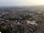 Ongekende ballon vaart opgestegen in Enschede op zondag 19 augustus 2018